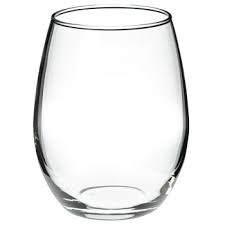 Party Rental stemless glass one